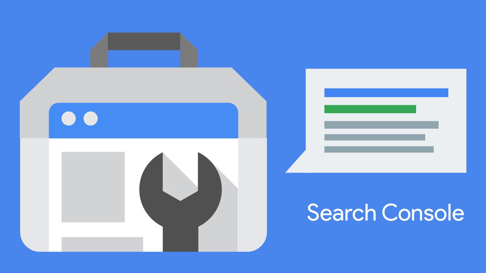 zmiany w Google Search Console