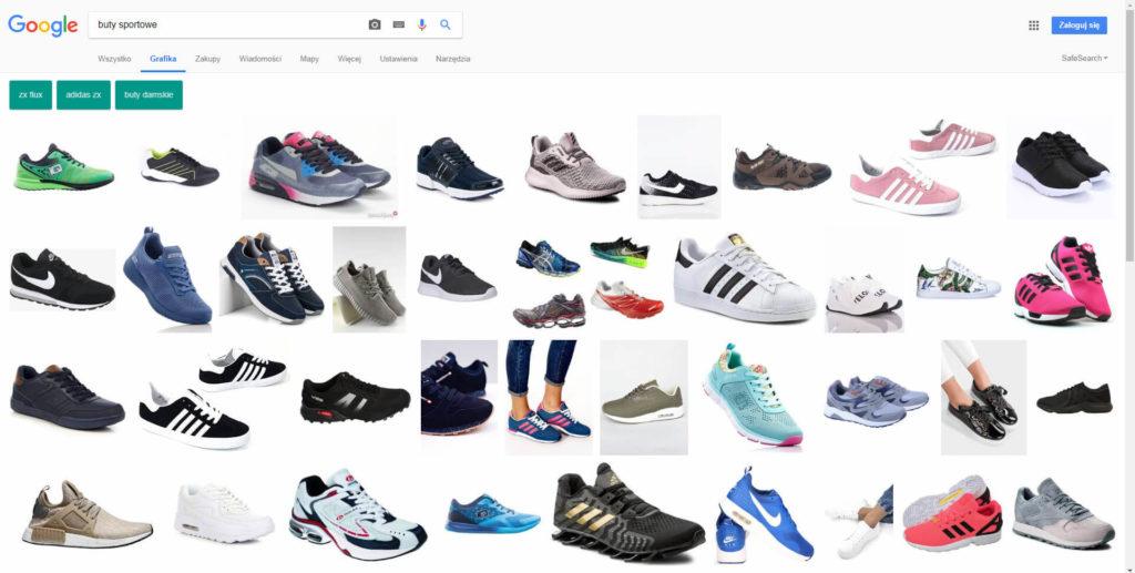 wyszukiwanie obrazów w Google Grafika