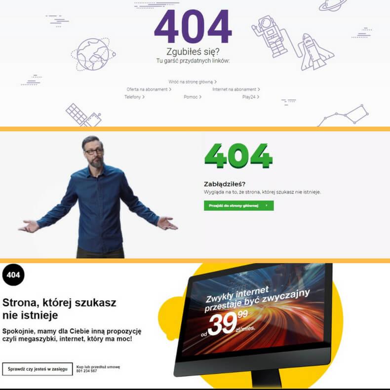 kreatywne strony błędu 404