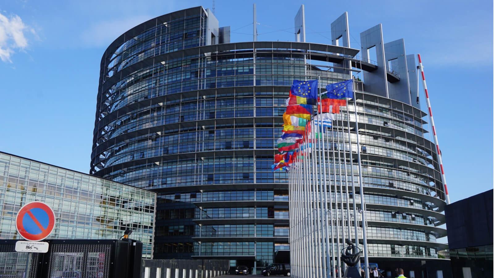 instytucje europejskie budynki sztrasburg