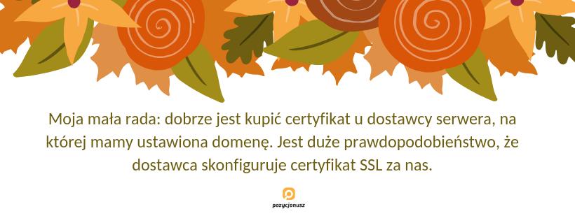 konfiguracja SSL