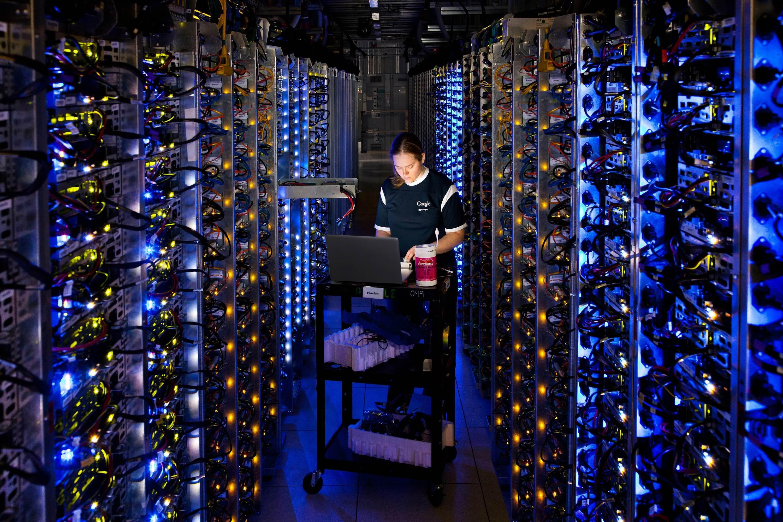 centra danych google