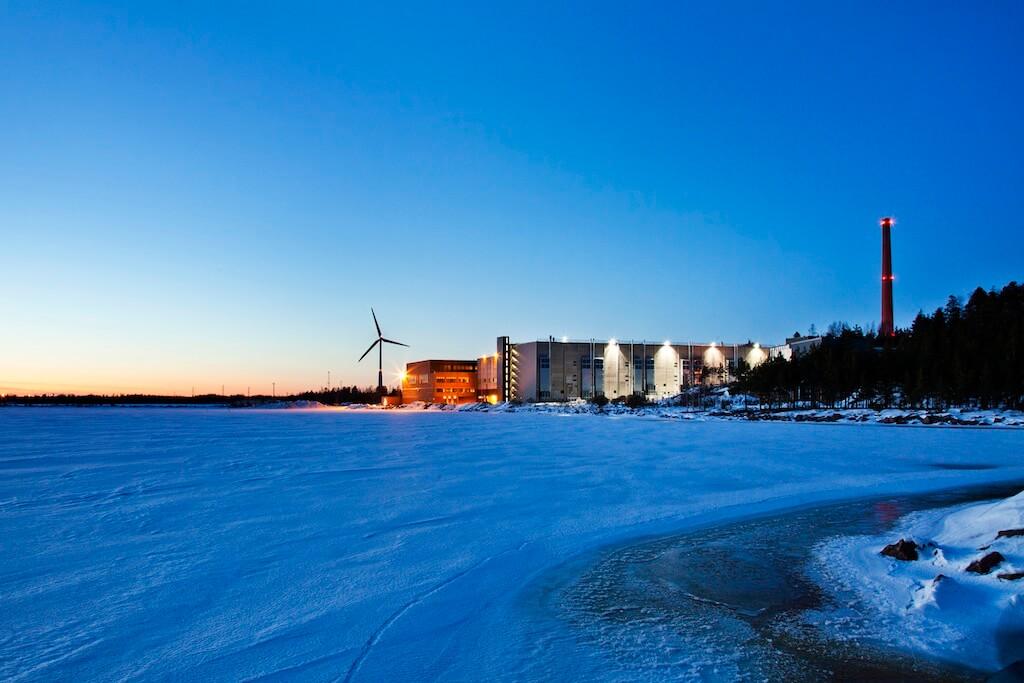 duża serwerownia google hamina finlandia