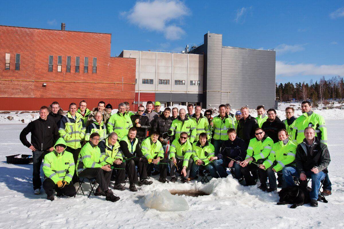 centrum danych google w finlandii - pracownicy