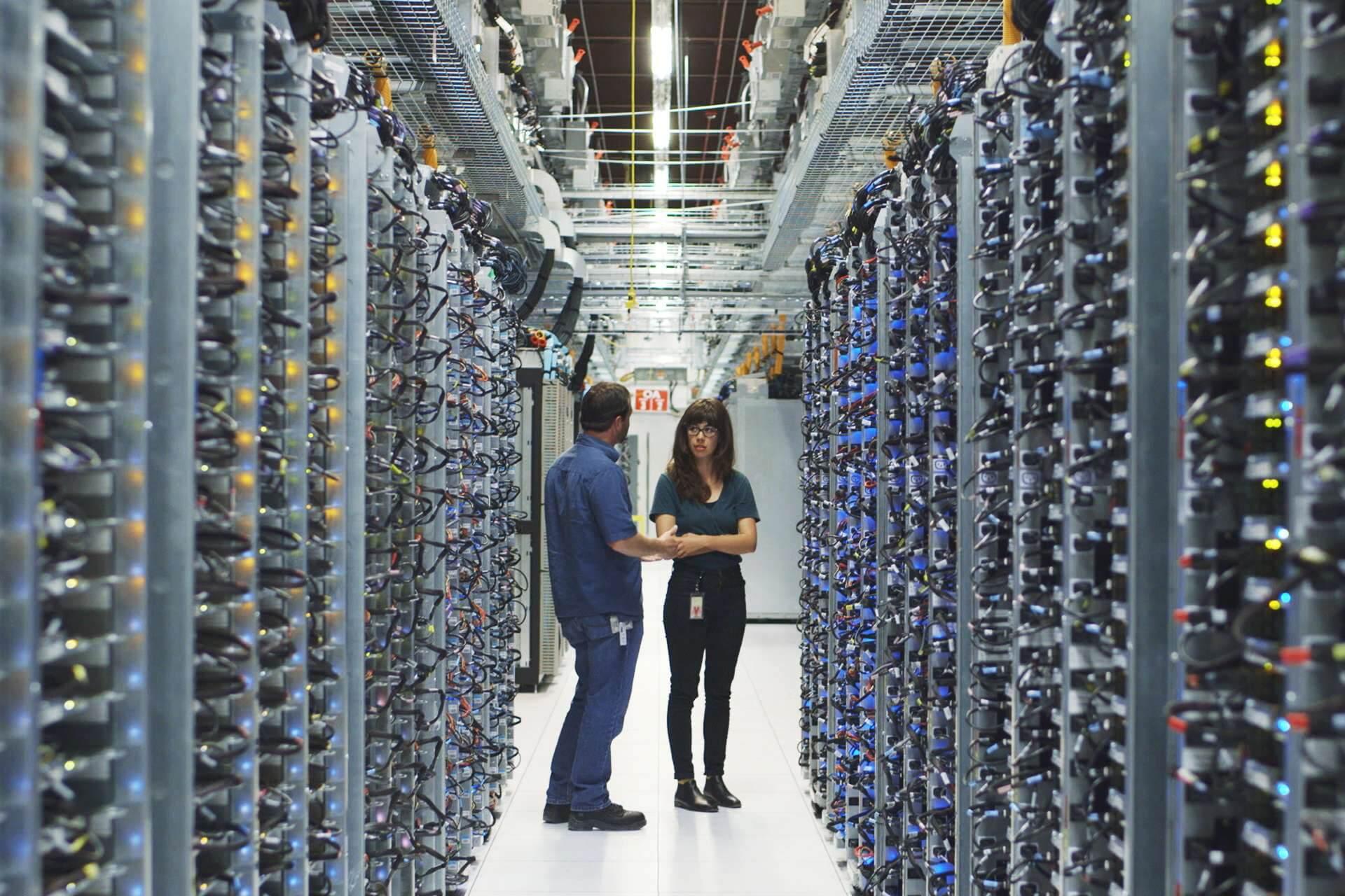 centrum danych google w oklahomie