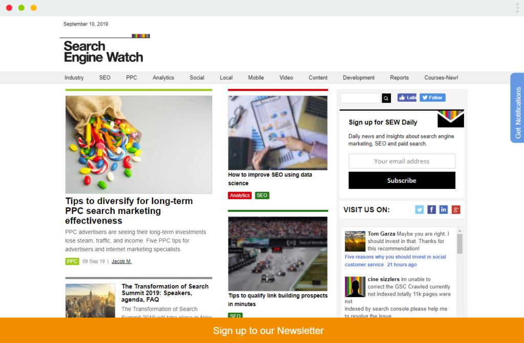 top10 blogów seo na świecie
