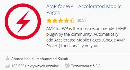 amp for wp wtyczka pod seo
