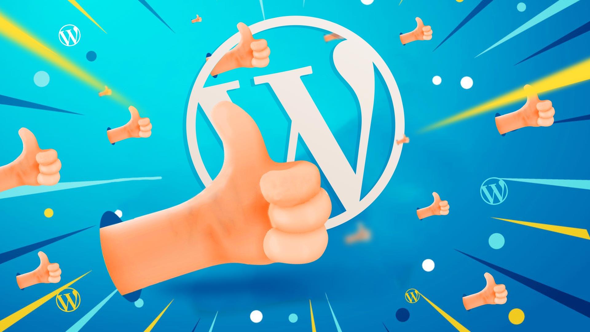 Strona WordPress – TOP25 zalet