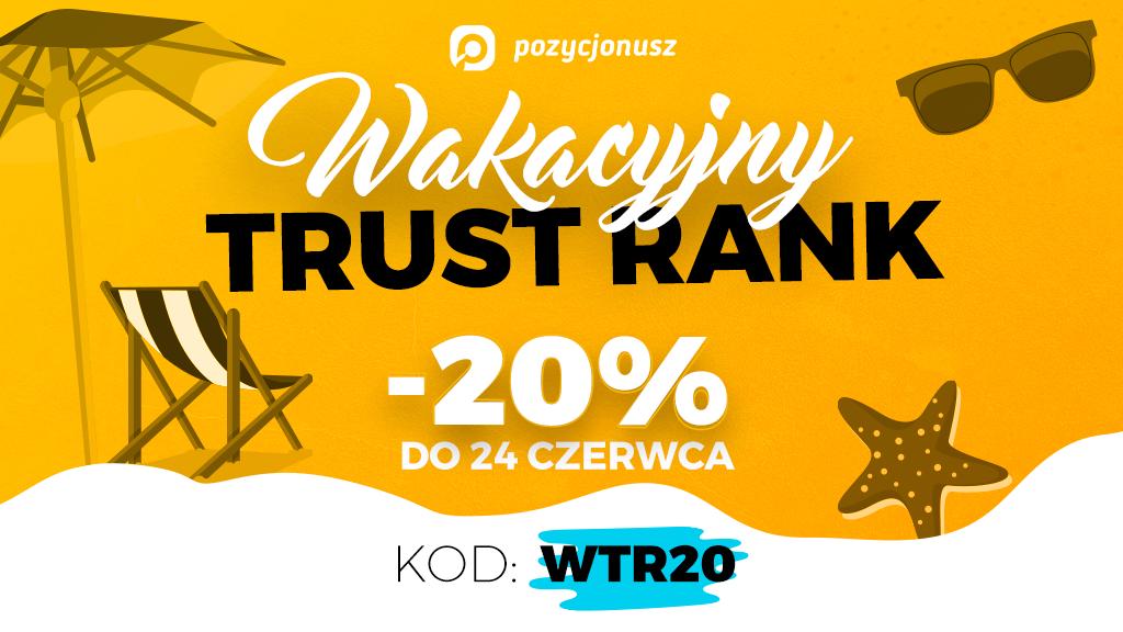 Promocja Pakiety Trust Rank