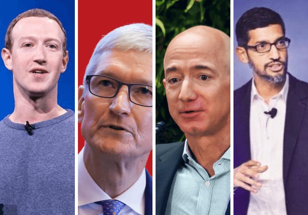 Szefowie Google, Amazona, Facebooka, Apple'a przesłuchani przed Kongresem